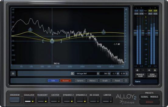 دانلود پلاگین میکس موزیک iZotope Alloy 2