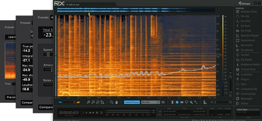 دانلود پلاگین تمیز کننده صدا iZotope RX 5 Advanced Audio Editor