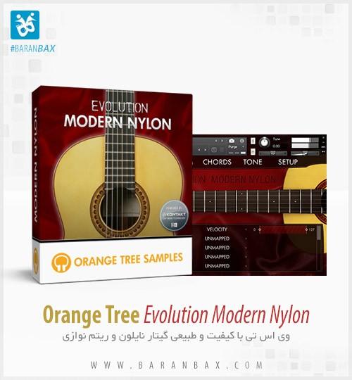 دانلود وی اس تی گیتار نایلون Orange Tree Samples Evolution Modern Nylon