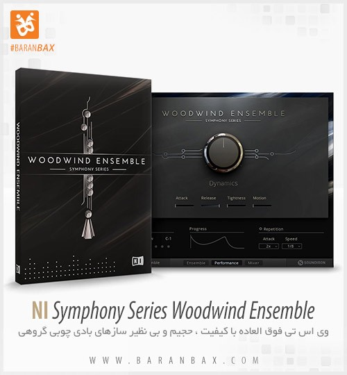 دانلود وی اس تی Native Instruments Symphony Series Woodwind Ensemble