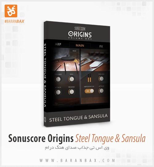دانلود وی اس تی هنگ درام Sonuscore Origins Steel Tongue and Sansula