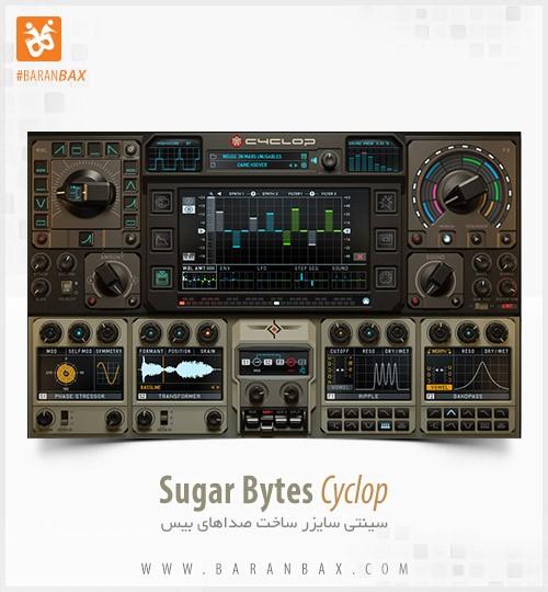دانلود سینتی سایزر بیس Sugar Bytes Cyclop