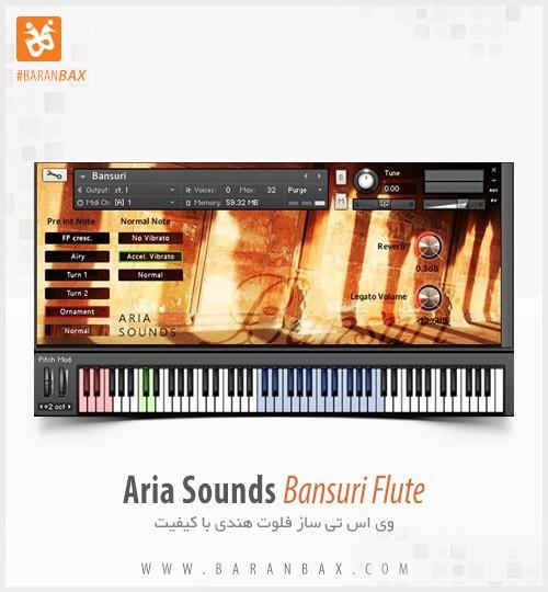 دانلود وی اس تی فلوت هندی Aria Sounds Bansuri Flute