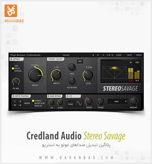 دانلود پلاگین تبدیل مونو به استریو Credland Audio Stereo Savage