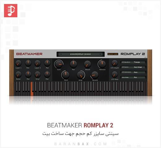 دانلود سینتی سایزر و بانک صدا BeatMaker RomPlay 2