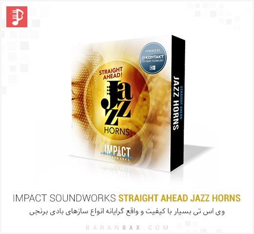 دانلود وی اس تی سازهای بادی برنجی Impact Soundworks Straight Ahead Jazz Horns