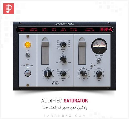 دانلود پلاگین کمپرسور Audified U78 Saturator v1.0.0