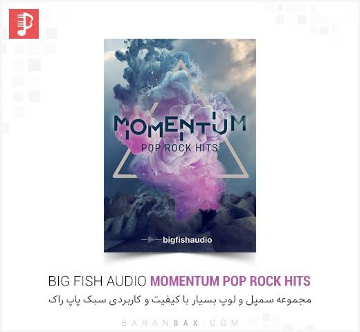 دانلود مجموعه سمپل و لوپ سبک پاپ راک Big Fish Audio Momentum Pop Rock Hits