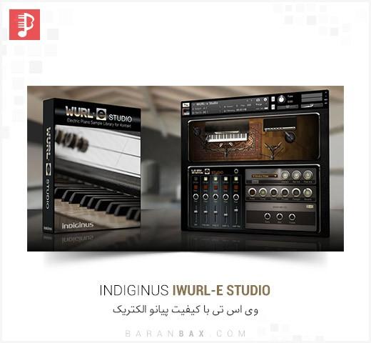 دانلود وی اس تی پیانو الکتریک Indiginus WURL-e Studio