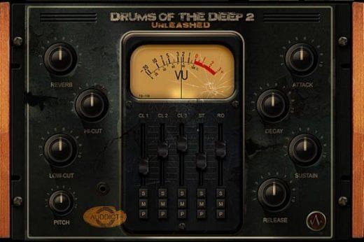 دانلود وی اس تی درامز حماسی Auddict Drums of the Deep II UNLEASHED