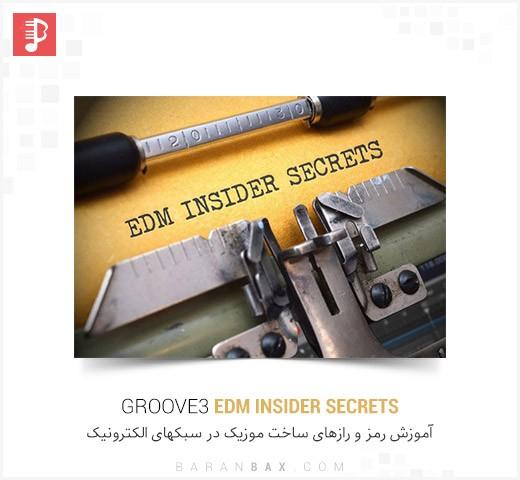 دانلود آموزش رمز و رازهای ساخت موزیک الکترونیک Groove3 EDM Insider Secrets