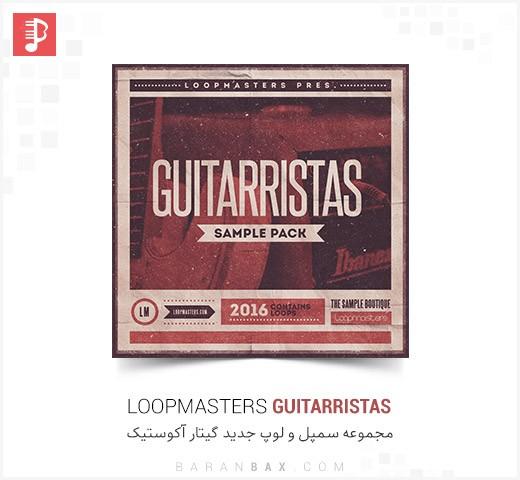 دانلود سمپل و لوپ گیتار آکوستیک Loopmasters Guitarristas