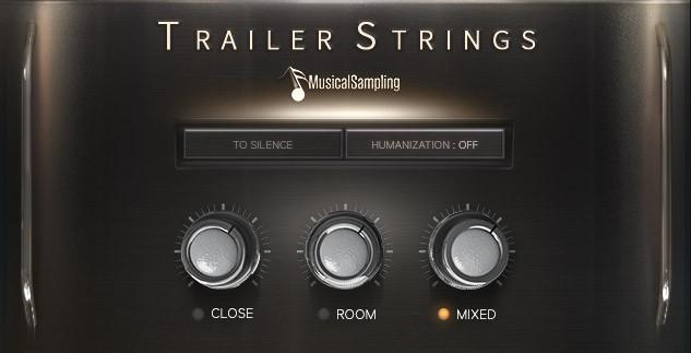 دانلود وی اس تی ویولن و استرینگ Musical Sampling Trailer Strings