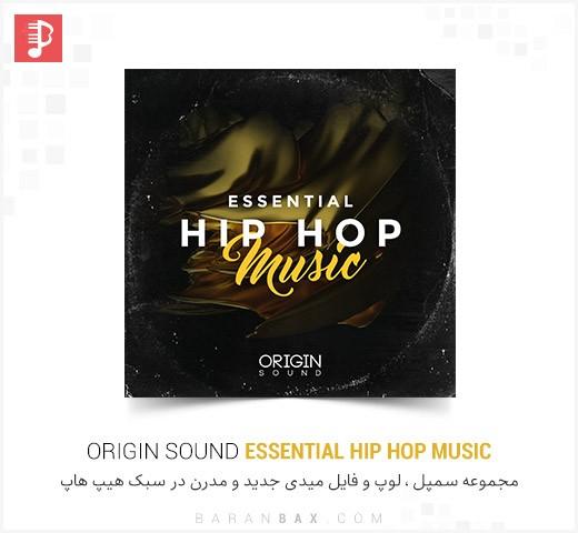 دانلود سمپل و لوپ هیپ هاپ Origin Sound Essential Hip Hop Music