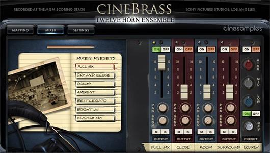 دانلود وی اس تی سازهای بادی برنجی Cinesamples CineBrass Twelve Horn Ensemble