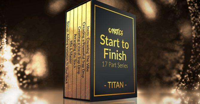 دانلود آموزش بی نظیر ساخت آهنگ از شروع تا پایان Cymatics Titan Start To Finish