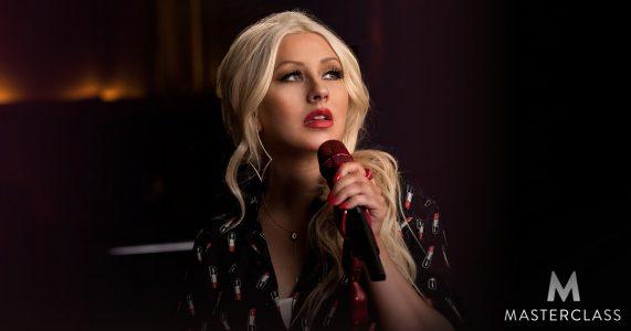 دانلود آموزش خوانندگی حرفه ای Masterclass Christina Aguilera Teaches Singing