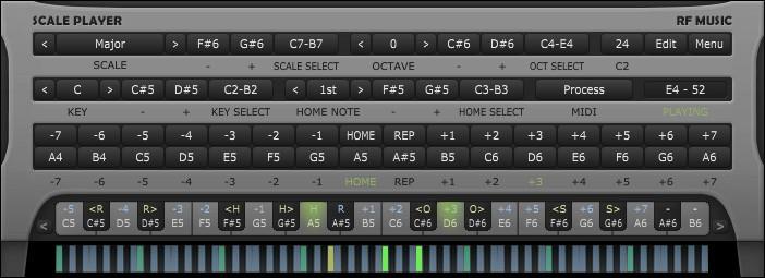 دانلود نرم افزار اجرای آکوردها RF Music Chord Player