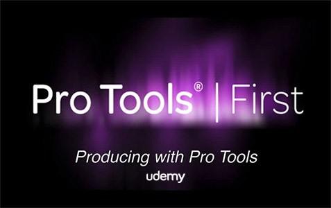 دانلود آموزش جامع ساخت آهنگ با پروتولز Udemy Producing with Pro Tools First