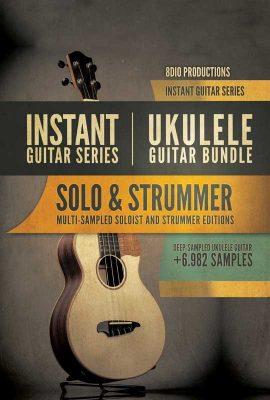 دانلود وی اس تی یوکلیلی 8Dio Instant Ukulele Guitar Bundle