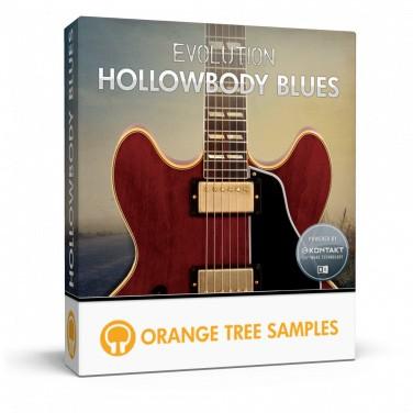 دانلود وی اس تی گیتار الکتریک Orange Tree Samples Evolution Hollowbody Blues
