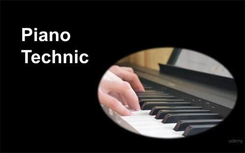 دانلود آموزش تصویری تکنیک های پیانو Udemy Piano Technique Exercises Vol.1