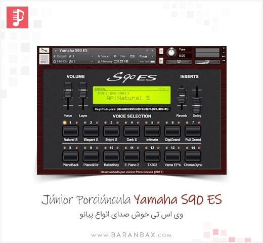 Junior Porciuncula Yamaha S90 ES