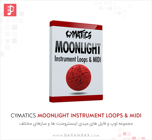 Cymatics Moonlight Instrument Loops & MIDI