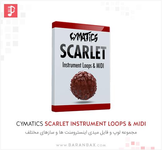 Cymatics Scarlet Instrument Loops & MIDI