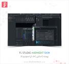 Fl Studio MidNight Skin