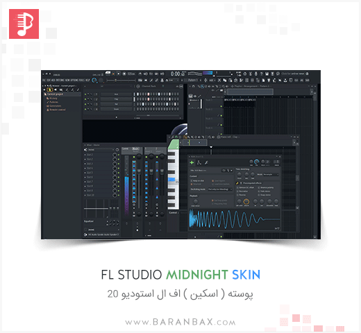 Fl Studio MidNight Skin