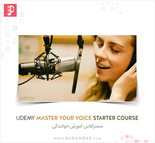 Udemy Master Your Voice Starter Course