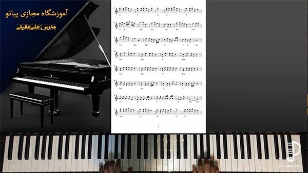 نحوه تصویربرداری مدرن در دوره آموزش جامع پیانو